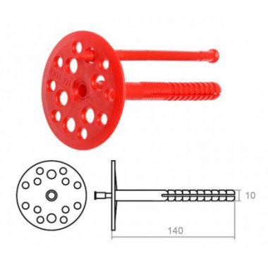 Дюбель для теплоизоляции IZO 10х140 мм Tech-Krep