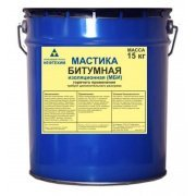 Мастика битумная изоляционная МБИ Нефтехим 15 кг
