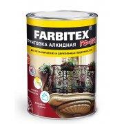 Грунт ГФ 021 красно-коричневый Farbitex 20 кг