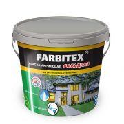 Краска акриловая фасадная белая Farbitex 25 кг