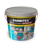 Краска акриловая моющаяся белая Farbitex 25 кг