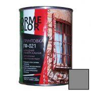 Грунтовка ГФ 021 серая Norme Color 0.9 кг