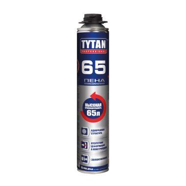 Пена монтажная профессиональная летняя 750 мл Tytan 65