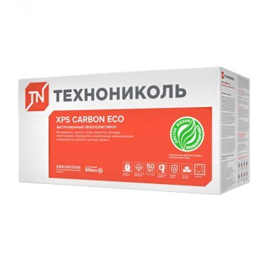 Технониколь XPS Carbon Eco 100 мм пенополистирол 1180х580 мм 4 шт