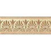Бордюр Селена коричневый 01 200х70х7 мм Шахтинская плитка