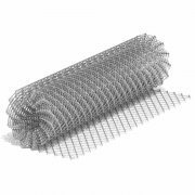 Сетка-рабица 1.8x10 м ячейка 35x35 мм D 1.5 мм оцинкованная Алькор