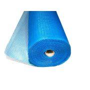 Фасадная сетка стеклотканевая 160гр/кв.м ячейка 5х5 мм рулон 1х50 м X-Glass