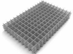 Сетка сварная в картах 1х2 м ячейка 100х100 мм d 3 мм Алькор