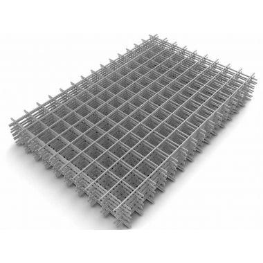 Сетка сварная в картах 1х2 м ячейка 50х50 мм d 3 мм Алькор