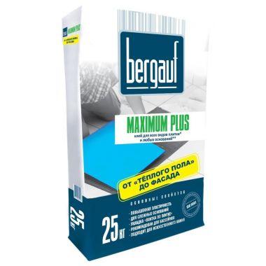 Клей для сложных оснований Bergauf Maximum Plus 25 кг