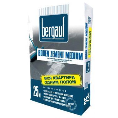 Цементный наливной пол Bergauf Boden Zement Medium 25 кг