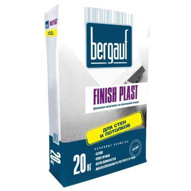 Шпаклевка полимерная финишная Bergauf Finish Plast 20 кг