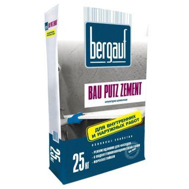 Цементная штукатурка Bergauf Bau Putz Zement 25 кг