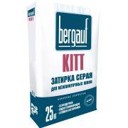 Затирка для плитки серая Bergauf 25 кг