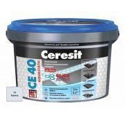 Затирка Ceresit СЕ 40 Aquastatic крокус 2 кг