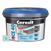 Затирка Ceresit СЕ 40 Aquastatic мята 2 кг