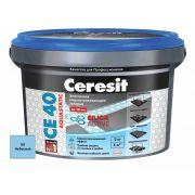 Затирка Ceresit СЕ 40 Aquastatic небесный 2 кг