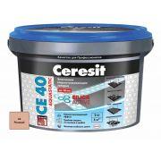Затирка Ceresit СЕ 40 Aquastatic розовая 2 кг