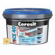 Затирка Ceresit СЕ 40 Aquastatic сахара 2 кг