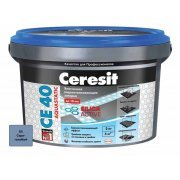 Затирка Ceresit СЕ 40 Aquastatic серо-голубой 2 кг