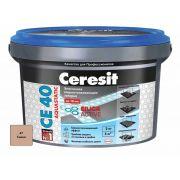 Затирка Ceresit СЕ 40 Aquastatic сиена 2 кг