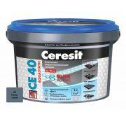 Затирка Ceresit СЕ 40 Aquastatic темно-синяя 2 кг
