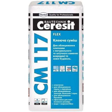 Ceresit СМ 117 эластичный клей для плитки 25 кг