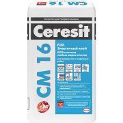 Эластичный плиточный клей Ceresit СМ 16 25 кг