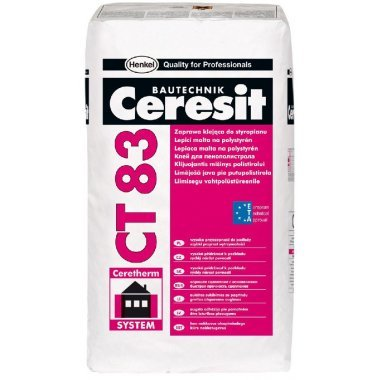 Ceresit CT 83 клей для пенополистирола 25 кг