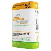 Цемент Евроцемент М500 Супер Д0 ЦЕМ I 42,5 50 кг