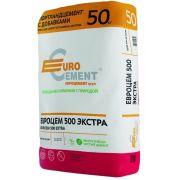 Цемент Евроцемент М500 Экстра Д20 ЦЕМ II А-Ш 42,5 50 кг