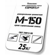 Смесь М-150 цементно-песчаная Техногипс Expert 25 кг