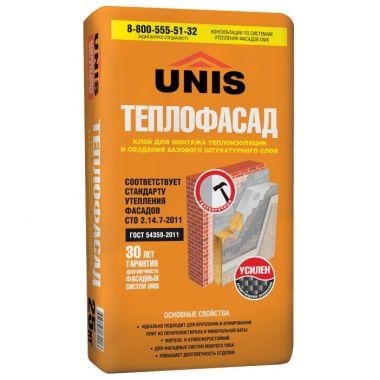 Юнис Теплофасад клей для теплоизоляции 25 кг